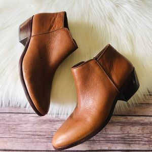 Sam Edelman Ankle Booties Leather Shoes Sz 7